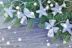 Beautiful Christmas composition Royalty Free Stock Photography
