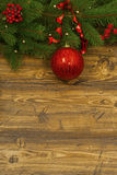 Christmas composition for greeting card. Royalty Free Stock Photo
