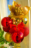 Christmas composition  os the sun Royalty Free Stock Image