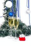 Christmas composition Royalty Free Stock Photos