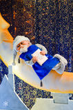 Christmas composition with Santa Stock Image