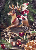Christmas composition. Royalty Free Stock Photo