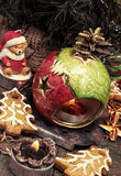 Christmas compositions Royalty Free Stock Image