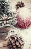 Christmas compositions Royalty Free Stock Photography