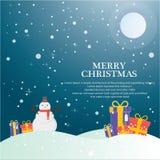 Christmas  compositions theme set Stock Image