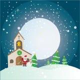 Christmas  compositions theme set Royalty Free Stock Photos