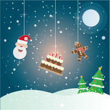 Christmas  compositions theme set Stock Photo