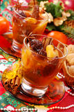 Christmas compote of dried fruits Stock Photography