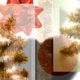 Christmas concept. Christmas composition concept, abstract background Stock Image