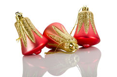Christmas concept with baubles Royalty Free Stock Photo