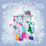 Christmas concept. Vector. Illustration for design Stock Photography