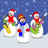 Christmas concert Stock Images