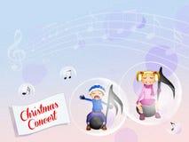 Christmas concert Stock Image