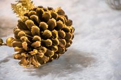 Christmas cone royalty free stock photography