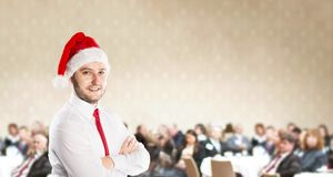 Christmas conference Stock Images