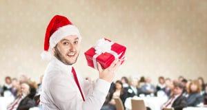Christmas conference Stock Image