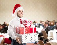 Christmas conference Royalty Free Stock Photography