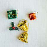 Christmas confetti Royalty Free Stock Image