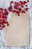 Christmas congratulation card Stock Images