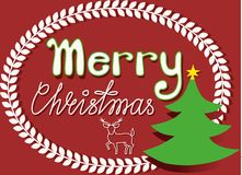 Christmas congratulation Royalty Free Stock Photos