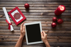 Christmas connectivity Stock Photography
