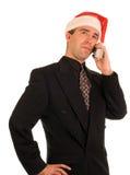 Christmas Conversation Royalty Free Stock Photo
