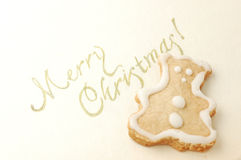 Christmas cookie Stock Photo
