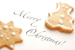 Christmas cookie Stock Images