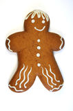 Christmas cookie. On white background Royalty Free Stock Photo