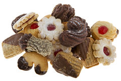 Christmas cookie. Assortment at different cookies to the Christmas time Royalty Free Stock Photos
