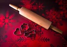 Christmas cookie bakery. Baking ramekins Royalty Free Stock Images
