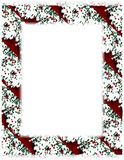 Christmas Cookie Border on White Royalty Free Stock Photo