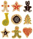 Christmas cookie collection Stock Images