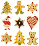 Christmas cookie collection Royalty Free Stock Photo