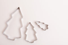 Christmas cookie cutters Stock Image