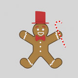 Christmas cookie. 3D Stock Photography