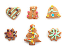 Christmas cookie ginger breads Royalty Free Stock Photo