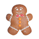 Christmas Cookie. Gingerbread Man. Royalty Free Stock Image