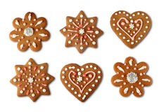 Christmas cookie gingerbreads Royalty Free Stock Photo