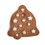 Christmas cookie isolated Stock Images