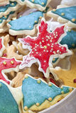Christmas cookie mix Royalty Free Stock Image