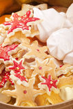 Christmas cookie mix Royalty Free Stock Photo