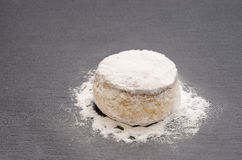 Christmas cookie with powdered sugar Royalty Free Stock Photography