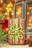 Christmas cookie present Stock Photos
