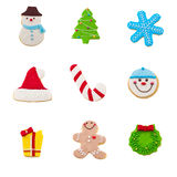 Christmas cookie set Royalty Free Stock Image