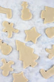 Christmas Cookie Shapes Stock Image