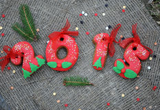 Christmas cookie 2015 Stock Photo