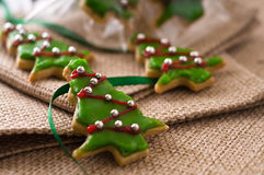 Christmas cookie tree Royalty Free Stock Images