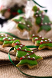 Christmas cookie tree Stock Image