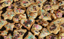 Christmas cookies. The image shows some tasty christmas cookies Stock Photo